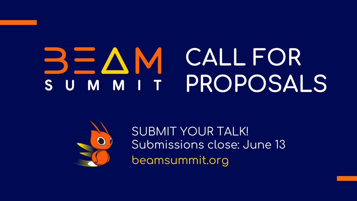 Beam Summit 2021 CFP is open!